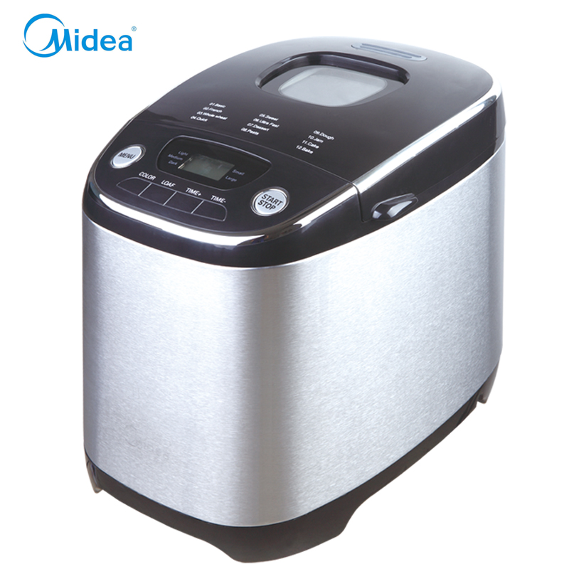 2016 newest midea breadmaker easy operate and control bread making machine with keep warm and automatic power off  bread maker free shipping brand teclast taipower p76s tablet pc mid large capacity lithium battery 357090 panels