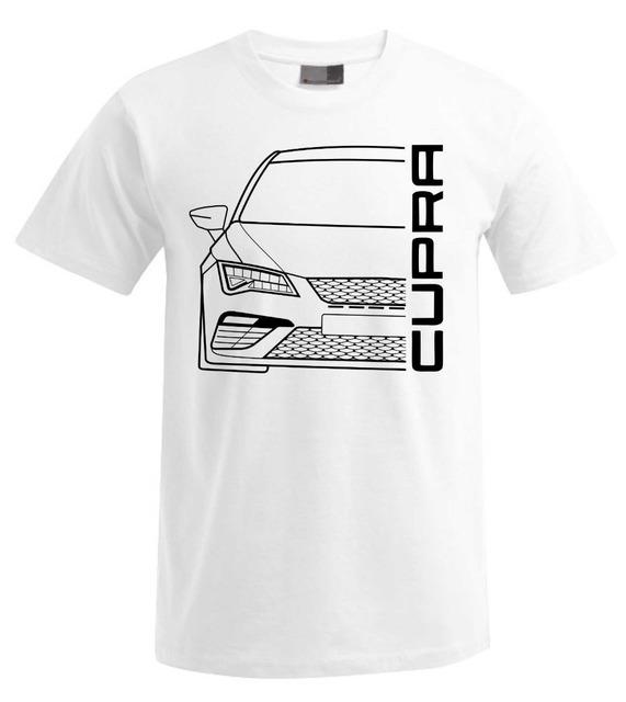 T-Shirt 2018 Fashion Men Seat Leon Cupra 5F Facelift T-Shirt V2 casual tee