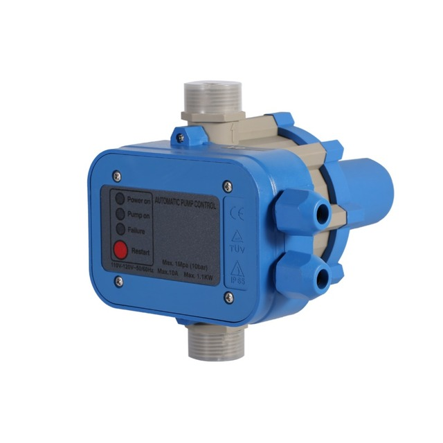 Automatic Electric Electronic Switch Control Water Pump Pressure Controller 110V bomba de agua