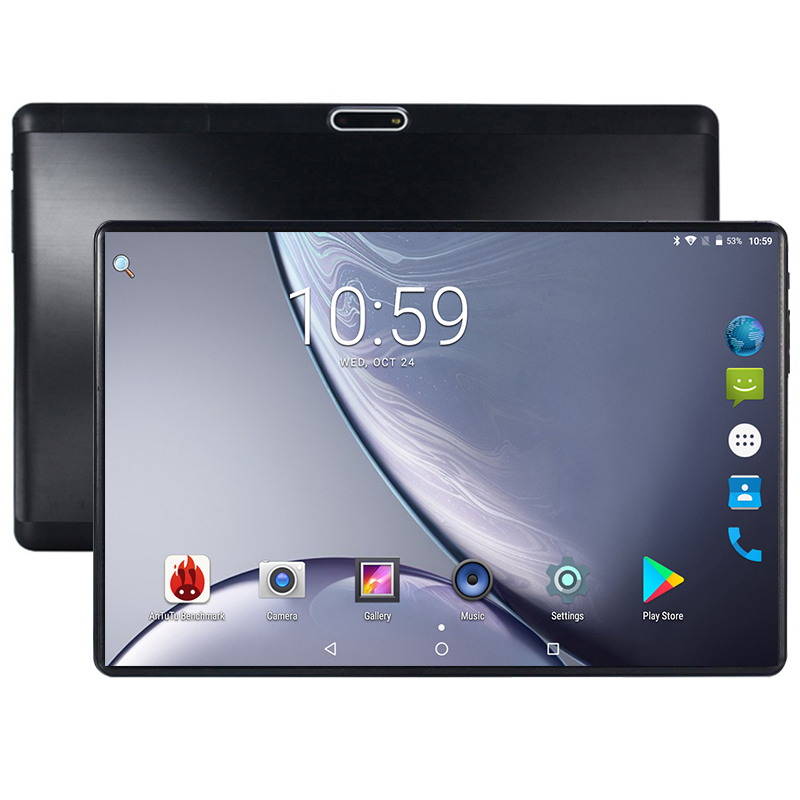Hot New 10 inch Tablet PC Ocat Core 4GB RAM 64GB ROM Android 8.0 GPS Dual SIM Cards 1280*800 IPS 3G 4G LTE Phone Tablet 10 10.1(China)