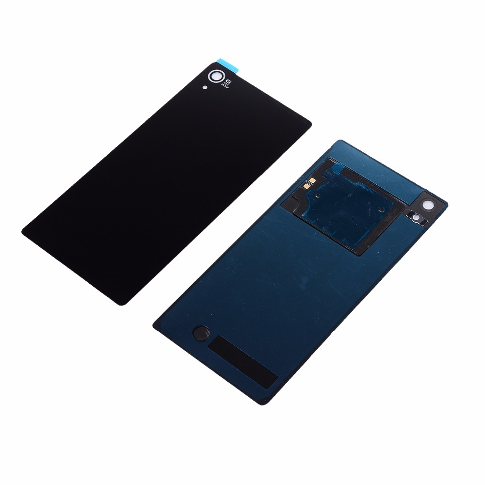 For <font><b>Sony</b></font> Xperia <font><b>Z2</b></font> D6543 L50W D6503 Housing Rear Glass Back <font><b>Battery</b></font> <font><b>Cover</b></font> Door <font><b>Cover</b></font> With NFC Antenna + Sticker image