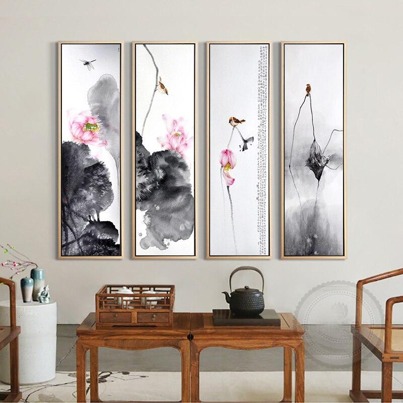 moderno unidades chino pinturas arte de la pared de la lona pintura al leo cuadro abstracto cuadros art poster home decor pos