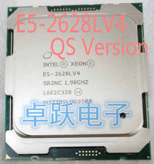E5-2628LV4 Original Intel Xeon QS Version E5 2628LV4 1.90GHZ 12-Core 30MB 75W E5 2628L V4 LGA2011-3 Free shipping