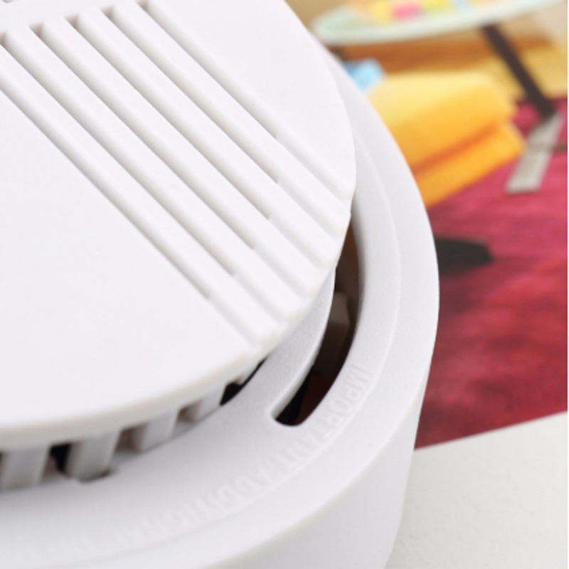 Fire Alarm Detector Independent Smoke Alarm Sensor For Home Office Security Photoelectric 15/433MHz Smoking Detector Alarm