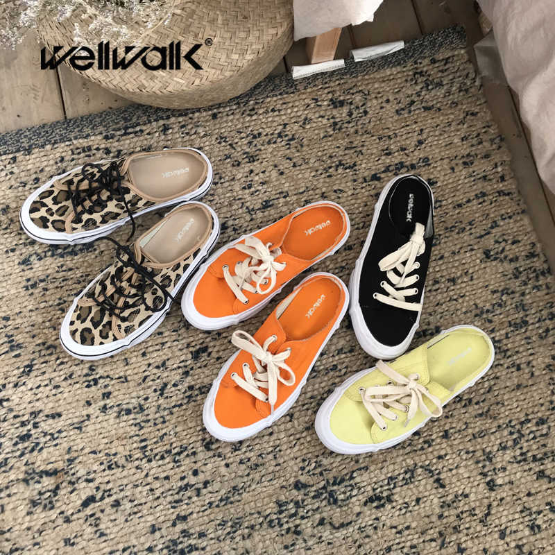 Casual Sneaker Open Back Slippers Slide