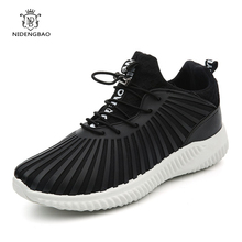 Super Cool Men Running Shoes Lace Up Sneakers Breathable Sport Outdoor Jogging Walking Footwear Athletic Male