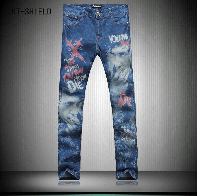 fashion 3D printed men cargo jeans famous brand summer slim fit denim overalls hombre hip hop skinny trousers pantalon mezclilla ripped skinny denim jeans mens brand slim straight cargo casual trousers hombre biker hip hop jogger pants pantalon mezclilla
