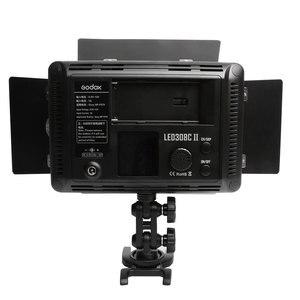 Image 5 - Светодиодный светильник Godox 308C II 3300K 5600K, лампа для видеосъемки + пульт дистанционного управления для видеокамеры DV + аккумулятор NP770 + зарядное устройство, Бесплатная доставка