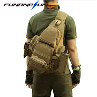 14 Tactical Backpack Laptop Molle Military Backpack Men Nylon Sports Bag Shoulder Sling Waterproof Men S
