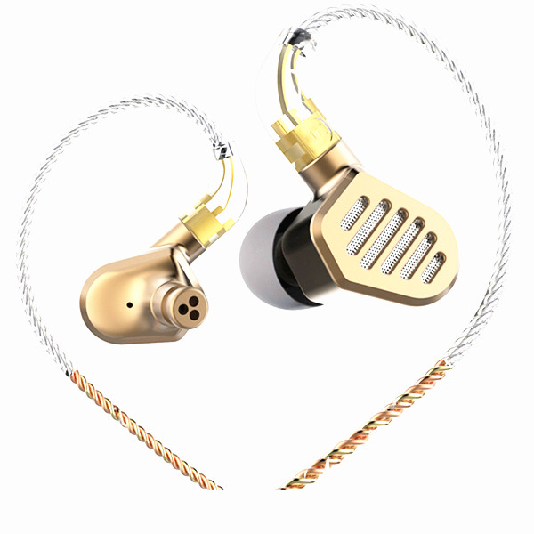 SENFER DT8 2BA 2DD Hybrid Drive Unit In Ear Earphone DJ HIFI Metal Earphone With Detachable