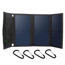 Zerosky Sunpower 21W Solar Panel Charger For Iphone Power Bank Battery Charger 5V Device Dual USB