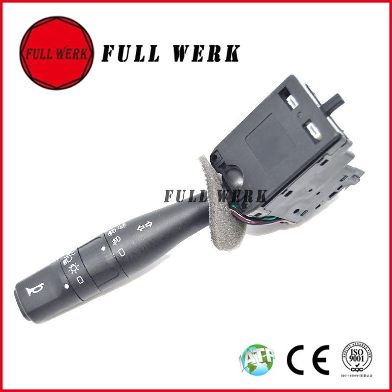 1 pc Mobil Beralih 251271 6253-69 9623641569 Mobil Turn Signal Switch dengan Saklar Lampu Auto Horn untuk Peugeot 106 206 306