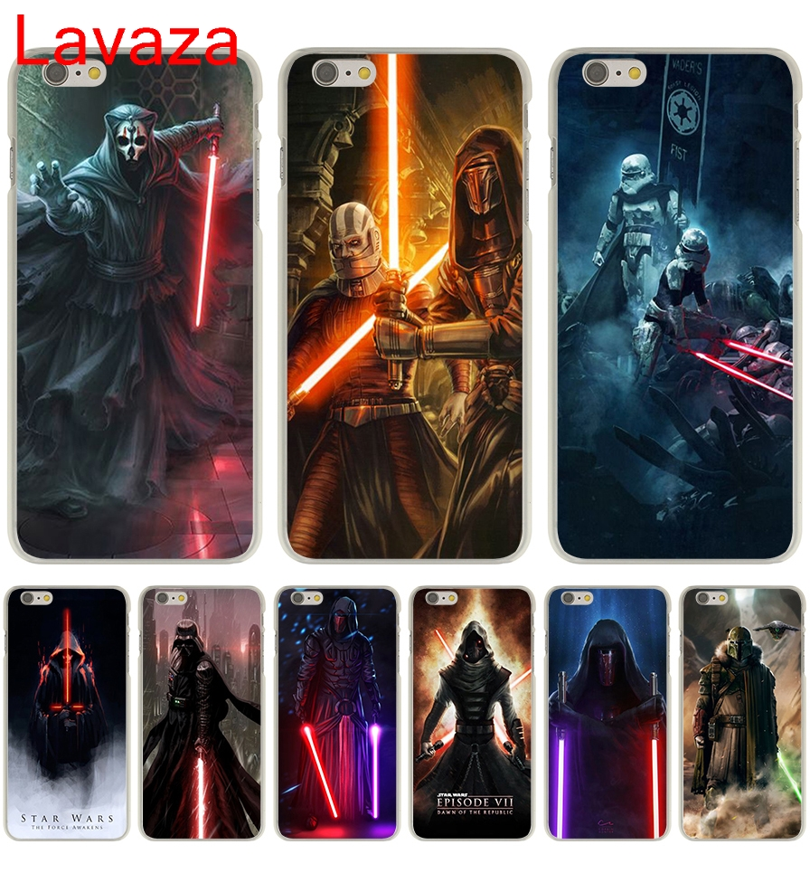 Lavaza Star Wars new lightsaber Hard Transparent Case Cover for iPhone 6 6S