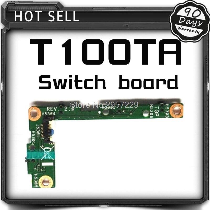 T100TA Board Original For Tablet T100 T100TA T100T T100TAF Switch On Off Power Botton Board Volume Control T100TA SW BOARD