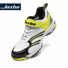 Jazba STRAIGHTDRIVE 330 Mens Cricket Rubber Cleat Shoes Professional Sport Sneakers Cushioning Protective Adjustable Strap Shoe