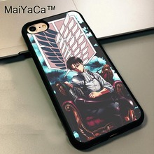 Attack on Titan Shingeki no Kyojin Soft TPU Skin Case For iPhone