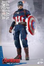 HT1/6th scale doll model 12″ Action figure doll,Marvel's The Avengers 2 Captain America with 2 head.Collectible Figure model toy