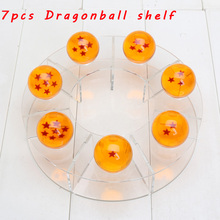 Anime Dragon Ball Dragonball Z Figues The Display Shelf Holder for 3.5cm / 4cm 7 stars Crystal ball Dragonball Action Figure Toy