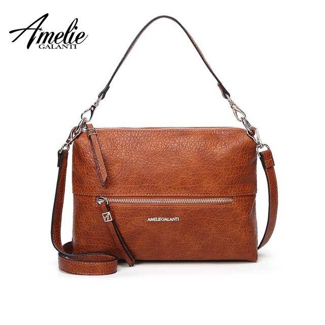 1e0cd1350a1 AMELIE GALANTI Women's Bag Shoulder & Handbags Convenient and Practical  Medium Size Ladies Leather Bag | www.ulp4u.com