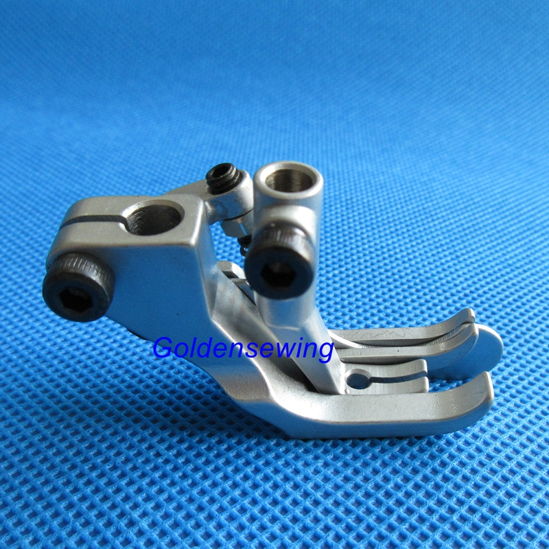 GR367-5mm 3/16'' Presser Foot W/ Spring Edge Guide For Durkopp Adler 367,467 767