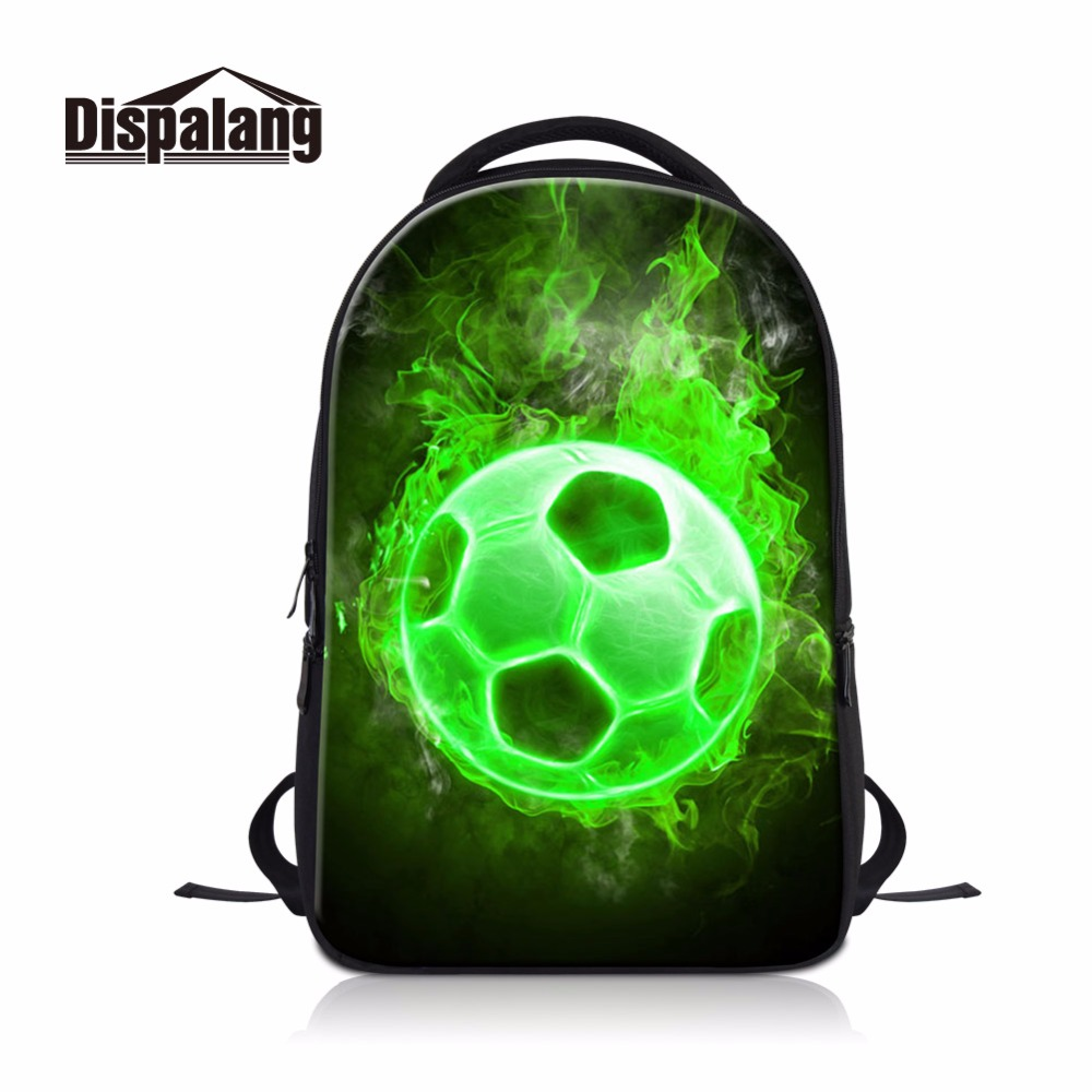 Dispalang Soccerly Backpack Multi-function Laptop package men women school bags High Class Book Bags Cool Footbally basketballs