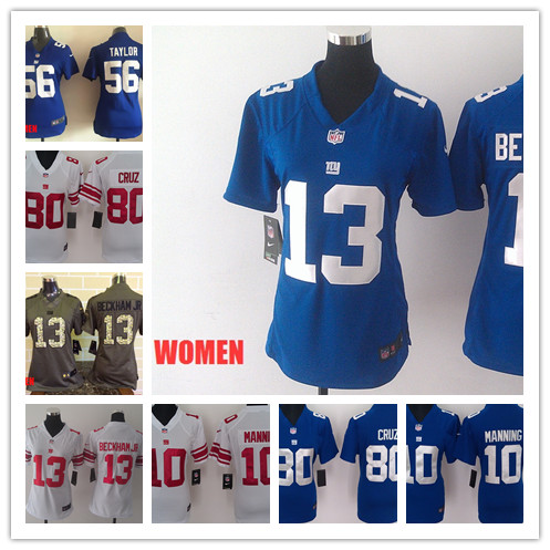 New York Giants Eli Manning WOMEN Jerseys
