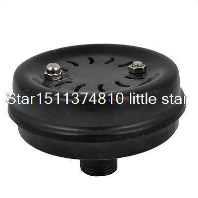 1/2PT Male Thread Dia Metal Air Compressor Intake Filter Silencer Mufflers  цены
