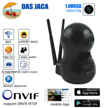 Das Jaca 1.0MP Wireless IP Camera P2P PTZ dome Surveillance Camera 720P HD WIFI Camera Infrared Night Home Security network cam