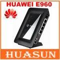 Бесплатная доставка Разблокирована HUAWEI E960 3G WI-FI Маршрутизатор с сим слот для карт HSPA 7.2 Мбит Широкополосный беспроводной маршрутизатор