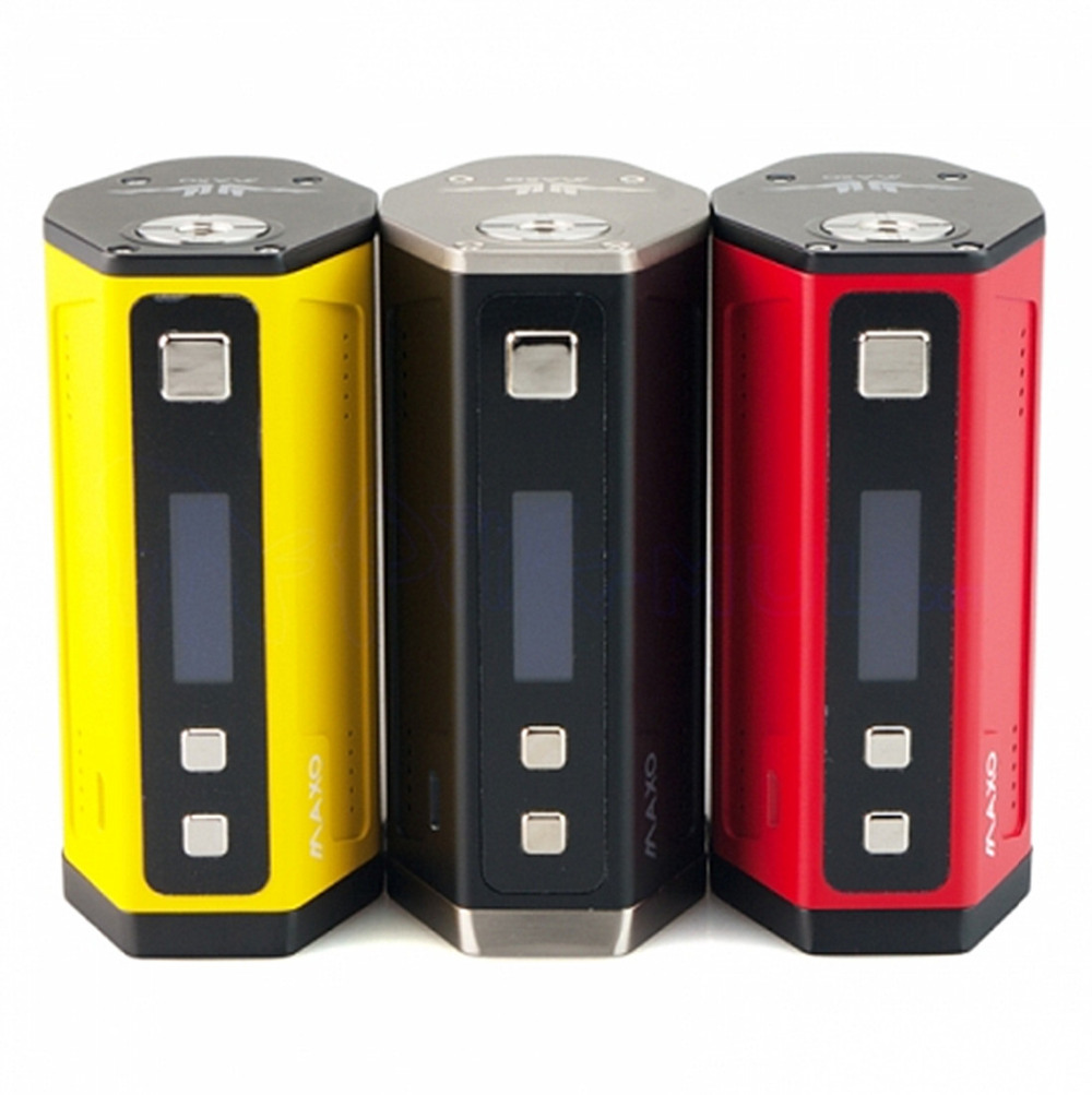 цена IJOY Maxo Quad 4*18650 315W VW TC BOX MOD OLED Screen