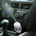 Newest  Auto Car Steam Humidifier Air Purifier DC 12V Portable Essential Oil Diffuser Mini Air Purifier Freshener Aroma Diffuser