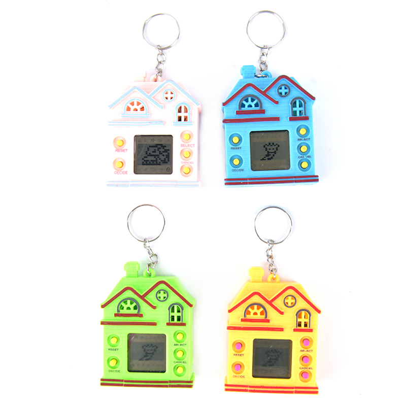 Virtual Digital Electronic Nostalgic Gamee Keychain in Key Chains from Jewelry Accessories