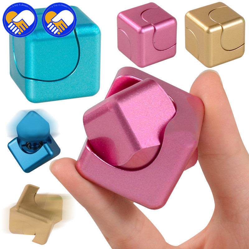 A TOY A DREAM Magical Cube Toys New Cube With Bearings Can Spin High Quality Plastic Adults Kids Best Gifts Funny Fidget Toys ...