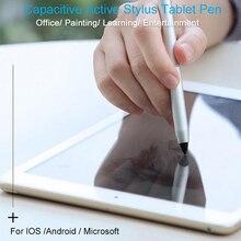 Активный планшет со стилусом ручка, сенсорная ручка для iPad поверхность iPhone samsung huawei телефон и ноутбук