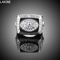 Championship Rings New High Quality Alloy Sports Ring Fantasy Football Rings Football Fans Gift Favorites Memorial