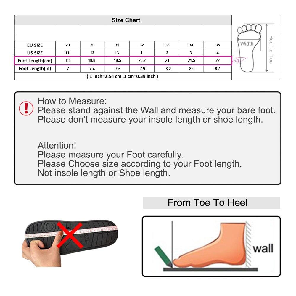 slipper size chart