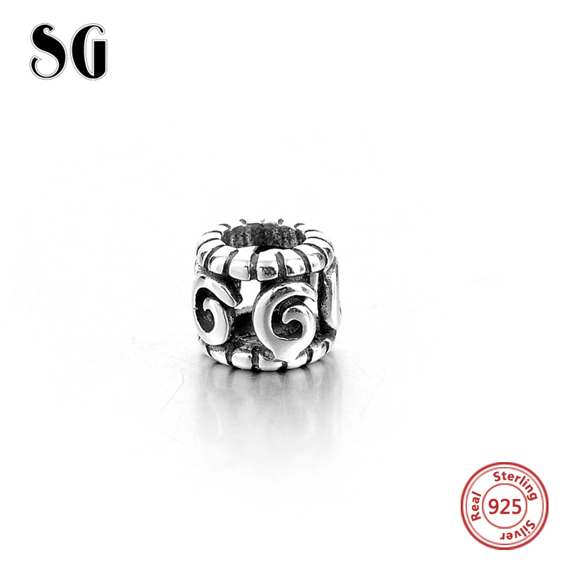 SG 2018 925 Sterling Silver Openwork Tropicana Palm Leaf Beads Charm fit Original pandora Bracelet DIY Silver Jewelry Making