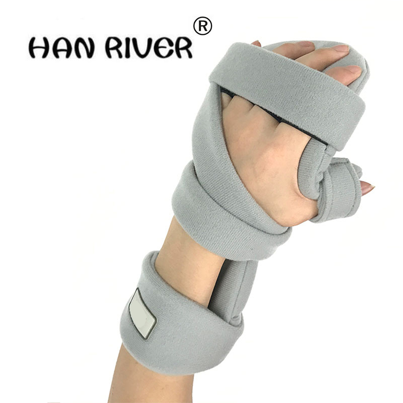 Points fingerboard Hand wrist fracture fixed finger corrector Old people stroke hemiplegic rehabilitation training equipment ho adjustable wrist and forearm splint external fixed support wrist brace fixing orthosisfit for men and women