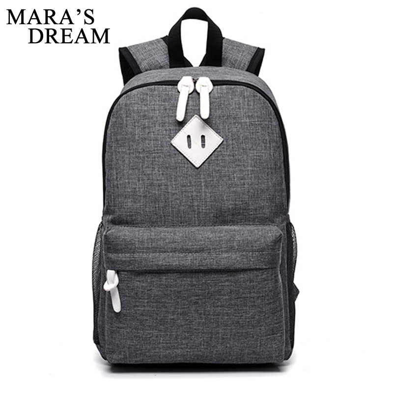 Mara's Dream Backpack Man Popular Solid Color Backpack For School Bag College Men Backpack Laptop Backpacks For Teenager Boys men backpack student school bag for teenager boys large capacity trip backpacks laptop backpack for 15 inches mochila masculina