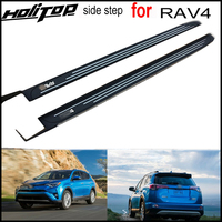 hot running board side bar foot step pedals for Toyota RAV4 2016 2017 2018,New design,fahsion outer shape,very popular in China
