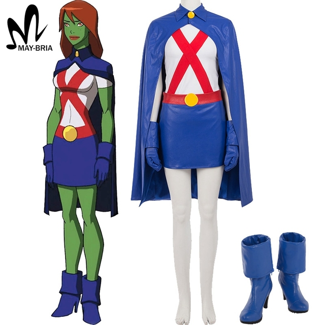 Sorry, that miss martian nude cosplay