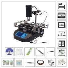Honton HT R490 BGA macchina di saldatura ad aria calda stazione di saldatura con universale diretto riscaldamento stencil BGA reballing kit di strumenti