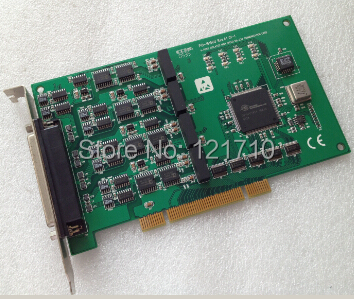 Industrial equipment board PCI-1610CU REV.A1 01-1 4-PORT ISOLATED HIGH SPEED RS-232 COMM ...