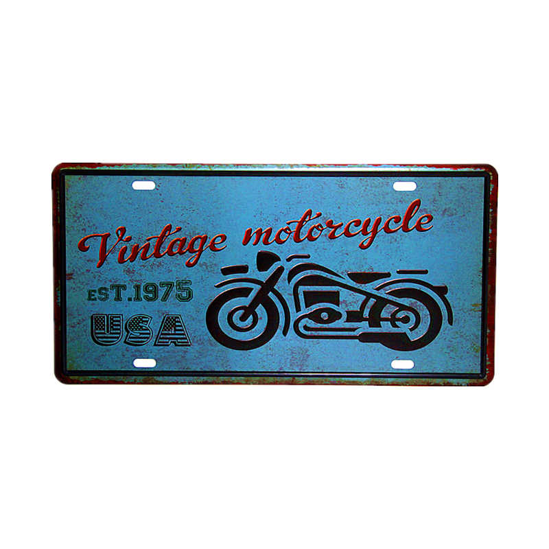 1975 License Plates of America poster