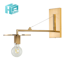 Nordic industry wind bedroom bedside wall lamp American simple modern living room background wall lamp designer lamps northern wind led lamps wall lamp industry designer clothing store track shoot the lamp to the sitting room corridor
