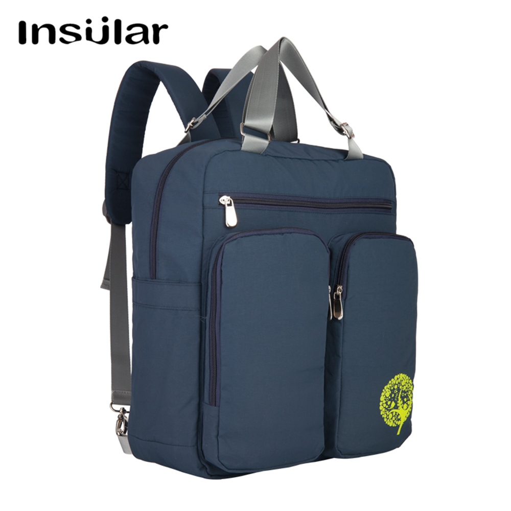 Insular Fashion Mummy Maternity Nappy Bag Brand Large Capacitynylon Waterproof Travel Backpack Baby Stroller Bags