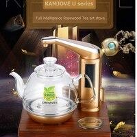 KAMJOVE U7 интеллектуальные резьба по дереву Электрический Отопление чай art плита чайник вскипятить чай Здоровье Смарт палисандр электрическая