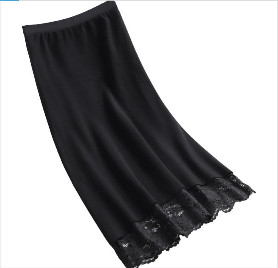 line Encaje Alta De Estiramiento Cálido Punto Cintura Beige Las Mujeres Invierno Saias A Beige Faldas Gtgyff Negro Midi negro Para Falda Vintage Saia qPtv0Ev