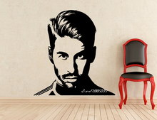 Football Sergio Ramos Vinyl Wall Stickers Soccer Player Star Wall Decals Art Design Home Decoration Wallpaper 3d Poster SA934