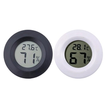 New round thermometer hygrometer camping equipment tool accessories outdoor